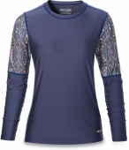 Изделие из лайкры DAKINE<br>WOMENS FLOW LOOSE FIT L/S FURROW