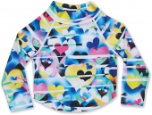 Изделие из лайкры DAKINE<br>GIRLS TODDLER LS RASHGUARD LIGHT HEARTED LTH