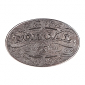 Пряжка NOR CAL<br>Plaque silver