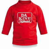 Майка лайкровая DAKINE<br>TODDLER BOYS 3/4 SLEEVE RED