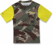 Изделие из лайкры DAKINE<br>BOYS HEAVY DUTY LOOSE FIT S/S CAMO