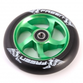 Колесо для самоката FASEN<br>Fasen Raven Wheel Green/Bk