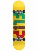 Скейтборд в сборе FLIP<br>Odyssey Faded Yellow Mid Sk8 Complete 7.25in x 29.9in