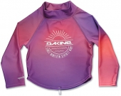 Изделие из лайкры DAKINE<br>GIRLS TODDLER LS RASHGUARD PINK SUNSET