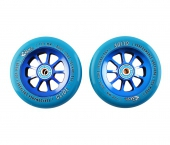 Колесо для самоката RIVER WHEELS<br>Glide 110Mm Blue On Blue