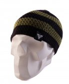 Шапка FALLEN<br>Buffalo Striped Knits Beanie olive/blk