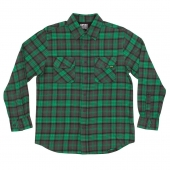 Рубашка CREATURE<br>Hannibal Green/ Grey/ Black Plaid