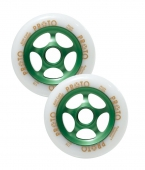 Колесо для самоката PROTO<br>110 мм Gripper White on Green - 2 шт.