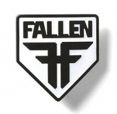 Пряжка FALLEN<br>insignia Shield Die Cast Buckle blk/wht