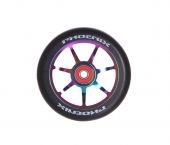 Колесо для самоката PHOENIX<br>F7 Alloy Core Wheel 110mm with Abec 9 Bearings Neo Chrome/Black