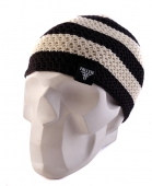 Шапка FALLEN<br>Buffalo Striped Knits Beanie blk/wht
