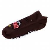 Носки TOY MACHINE<br>Poo Poo Head Ankle brown