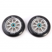 Колесо для самоката PROTO<br>-River Wheels Rapids 110mm M. McKeen - blk/silver - 2 шт.