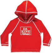 Изделие из лайкры DAKINE<br>GIRLS TODDLER HOODIE POPPY