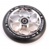 Колесо для самоката FASEN<br>Fasen 120 mm Wheel Chrome / Black