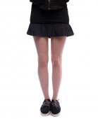 Мини юбка INSIGHT<br>юбка SLEEP TRAP SKIRT BLACK