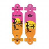 Лонгборд DUSTERS<br>S6 Endless Summer Wake Yellow/Orange/Pink 38 in 9,375