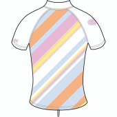 Изделие из лайкры DAKINE<br>GIRLS BODY STRIPE SUNRISE