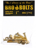 Набор винтов Bro Style<br>Bolts 1 Gold