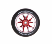 Колесо для самоката PHOENIX<br>F8 Alloy Core Wheel 110mm with Abec 9 Bearings Red/Black