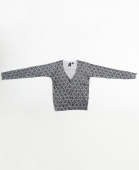 Свитер VANS<br>Check Lace Cardigan bl/wht