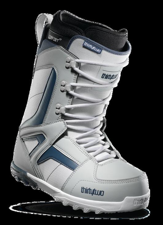 9e678010f096 Купить ботинки для сноуборда THIRTYTWO Prion grey 17-18 со скидкой в ...