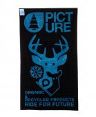 Полотенце PICTURE ORGANIC<br>Полотенце PO Towel Dear Black/Blue