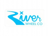 Наклейка RIVER WHEELS<br>Wheel Co-Rectangle Small Sticker