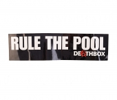 Наклейка TOY MACHINE<br>Deathbox Rule The Pool Small