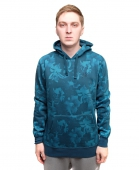 Толстовка HUF<br>Floral Pullover Hood navy floral