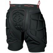 Шорты защитные PRO-TEC<br>Mens  Hip Protector Black/Red