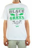 Футболка CREATURE<br>Black And Green wht