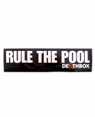 Наклейка TOY MACHINE<br>Deathbox Rule The Pool Large
