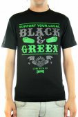 Футболка CREATURE<br>Black And Green blk