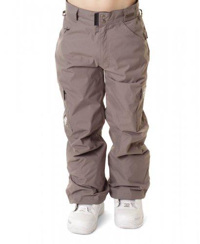Штаны сноубордические с мембраной GRENADE дет YOUTH PANT ARMY CORP GRAY. В